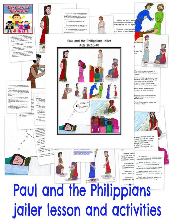 the philippian jailer coloring pages - photo#31