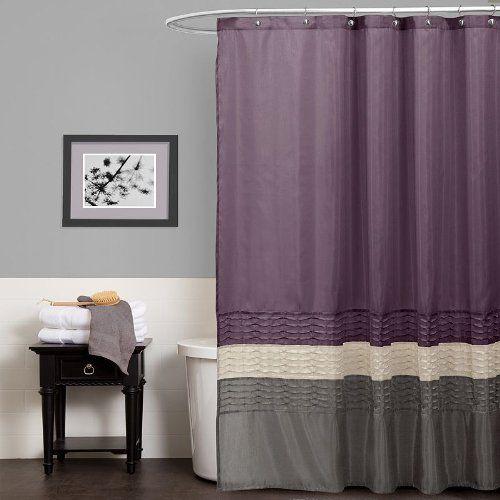 Cute for a purple and gray bathroom master bath remodel - Grey white and purple bathroom ...