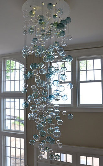 Bubbles Chandelier Lighting... whimsical !