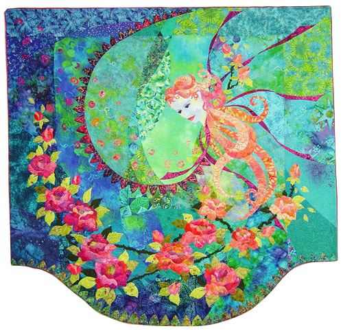 Mary Transom - Quilt Artist Memories of Roses