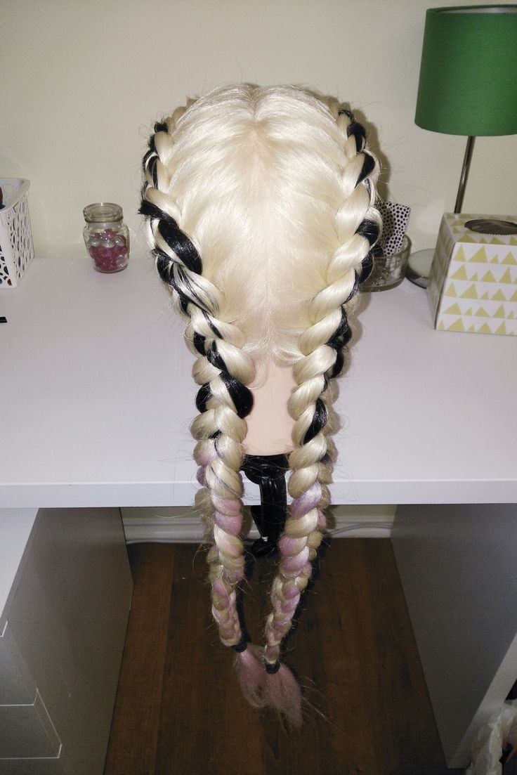 Dutch Feed In Braids ♡Braids With Extensions