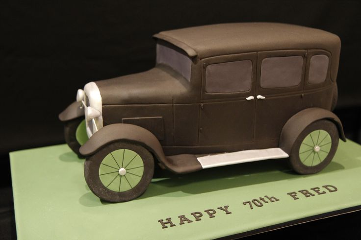 1929 Model A Ford Cake