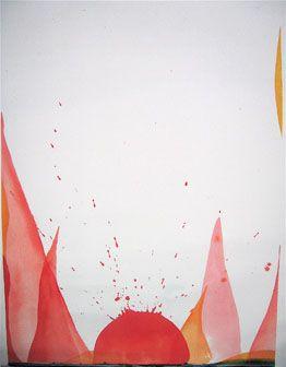 Iben Munnecke. Tusch on paper. Art. Flamé.