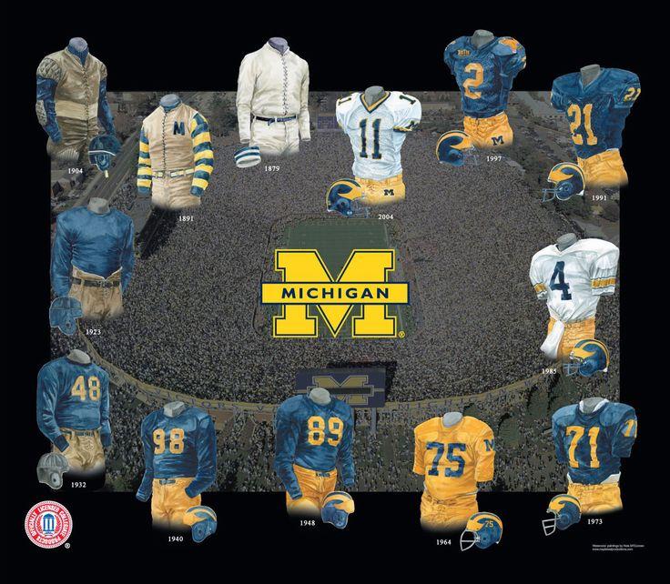 university of michigan | The University of Michigan features 24 varsity sports teams