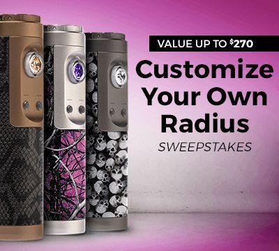 Win a Custom ProVari Radius via @ProVape #VapeProVari http://virl.io/MIEhPMps