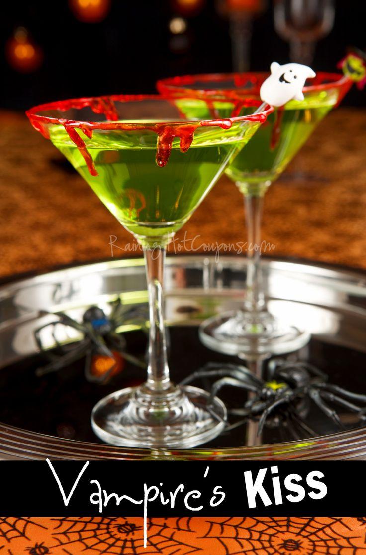 Vampire's Kiss (Halloween Drink Recipe)