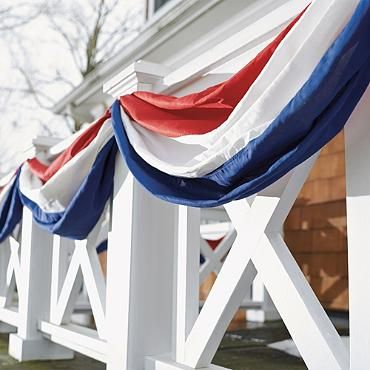Love this Patriotic Bunting from Grandin Road.  Awesome!