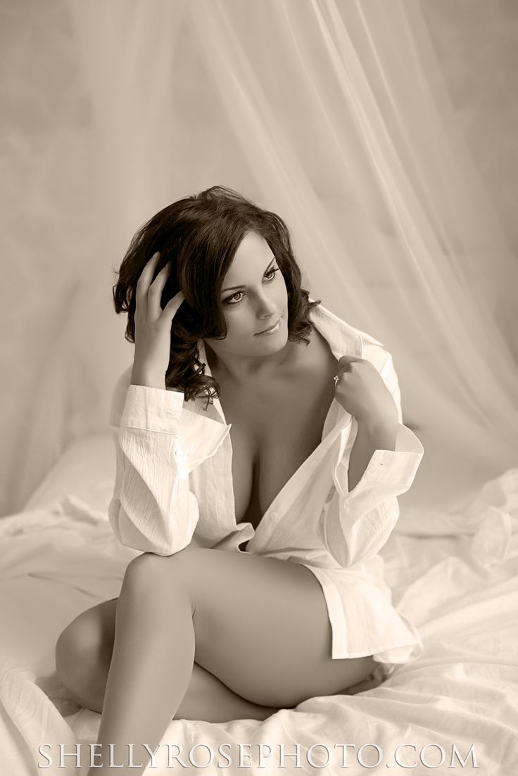 Southern Maine Boudoir Photographer - Shelly Rose Photography - www.shellyrosephoto.com | Add a personal touch by wearing his favorite work shirt #boudoir #photography #boudoirphotography  #maineboudoir #shellyrosephoto