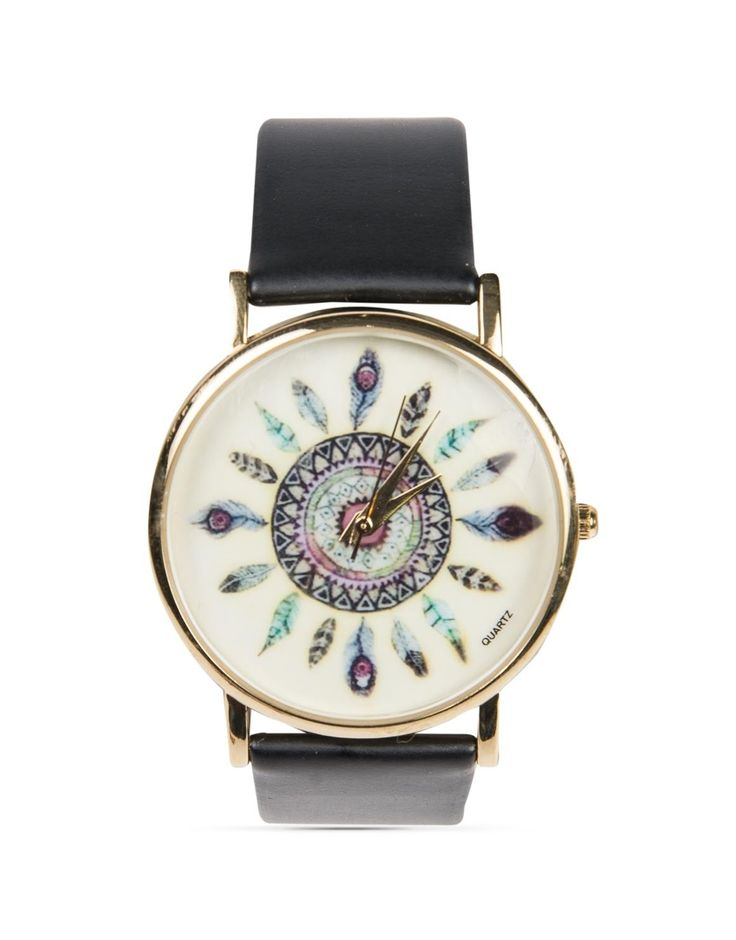 Round 'Feather' Watch