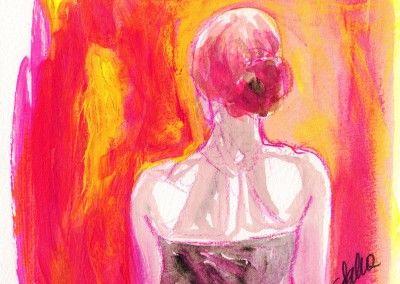 Giulia Salza - Mirada in rosa -  Caffè Basaglia