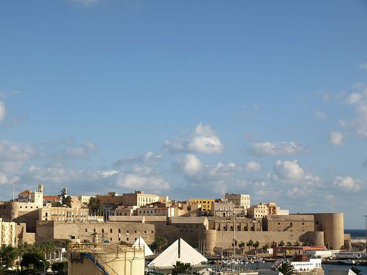 Frente de la Marina, Melilla la Vieja ◆Melilla - Wikipedia http://es.wikipedia.org/wiki/Melilla #Melilla