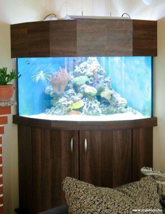 Styleform.hu - Íves sarok tengeri akvárium