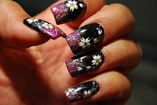 Nail art is no more restricted to models and celebrities only