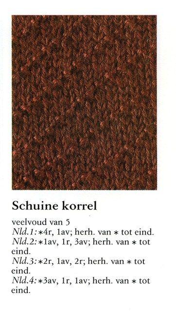 Schuine korrel 001 - Breisteken