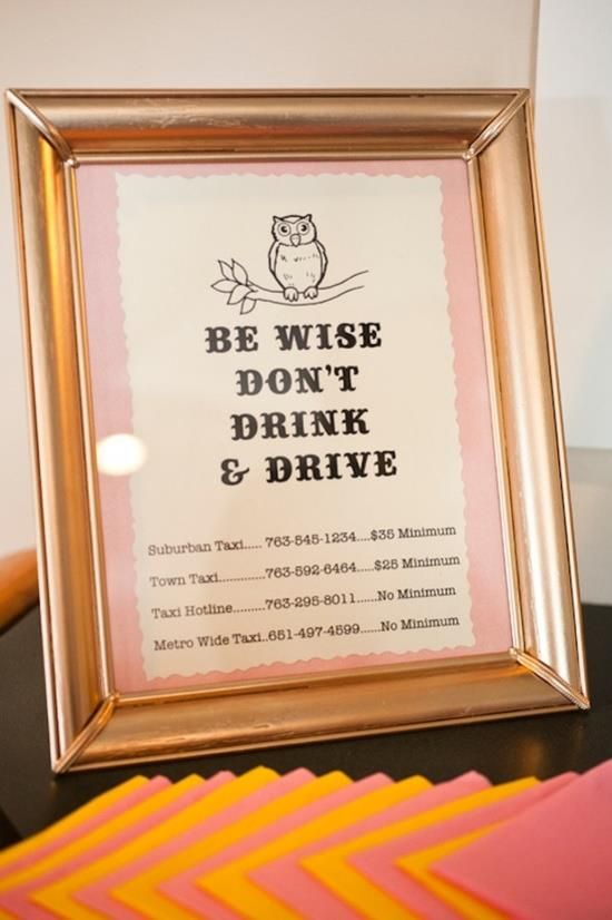 We love a wise #bride. #wedding #signage
