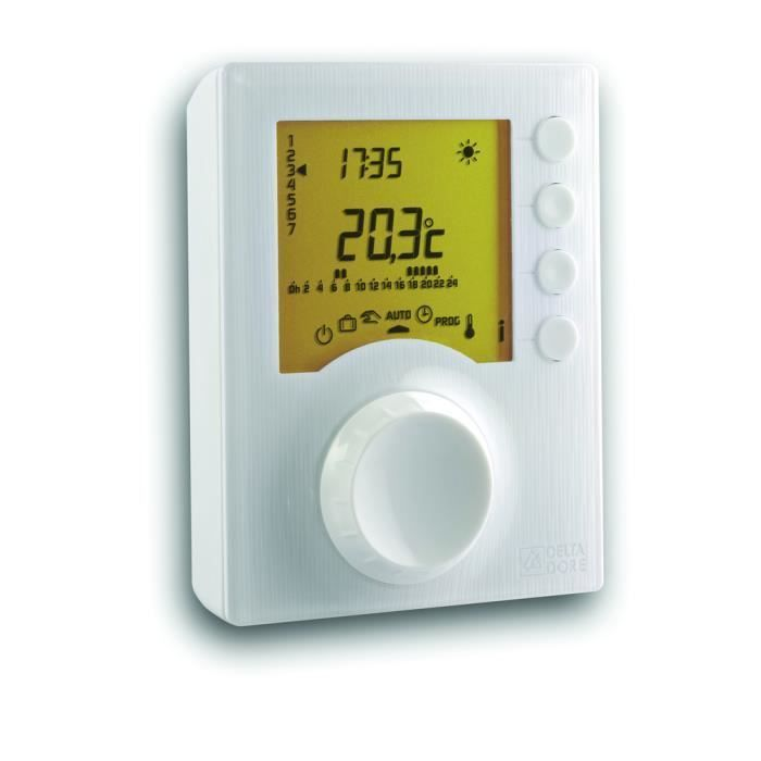 Delta Dore Thermostat D Ambiance Programmable Filaire Tybox 117