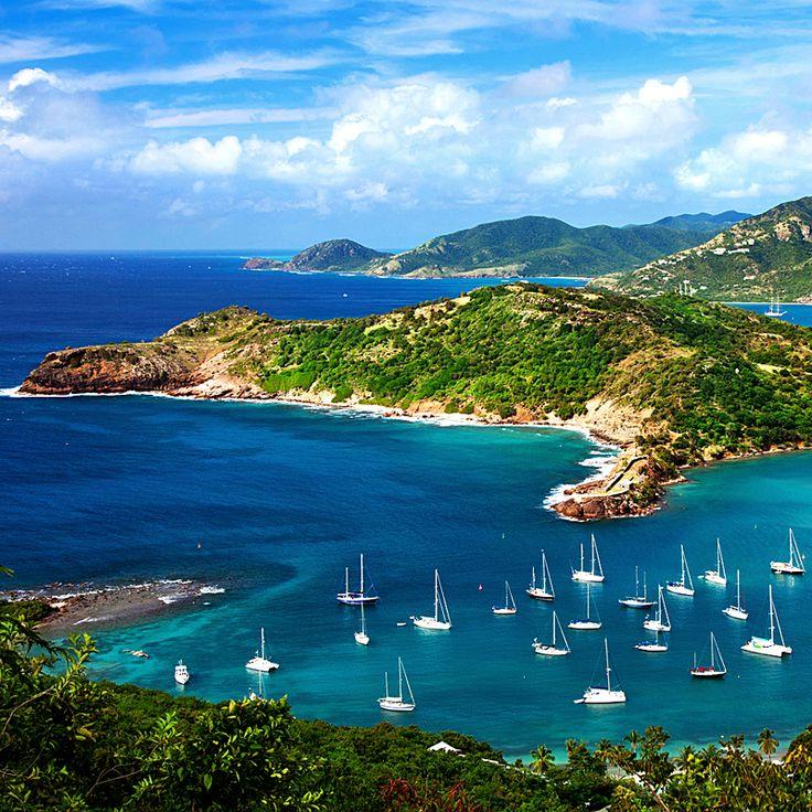 Antigua Island, Caribbean Sea / Остров Антигуа, Карибские о-ва