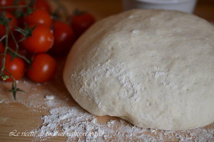 Impasto pizza napoletana,la ricetta base per preparare la pizza napoletana come quella della pizzeria