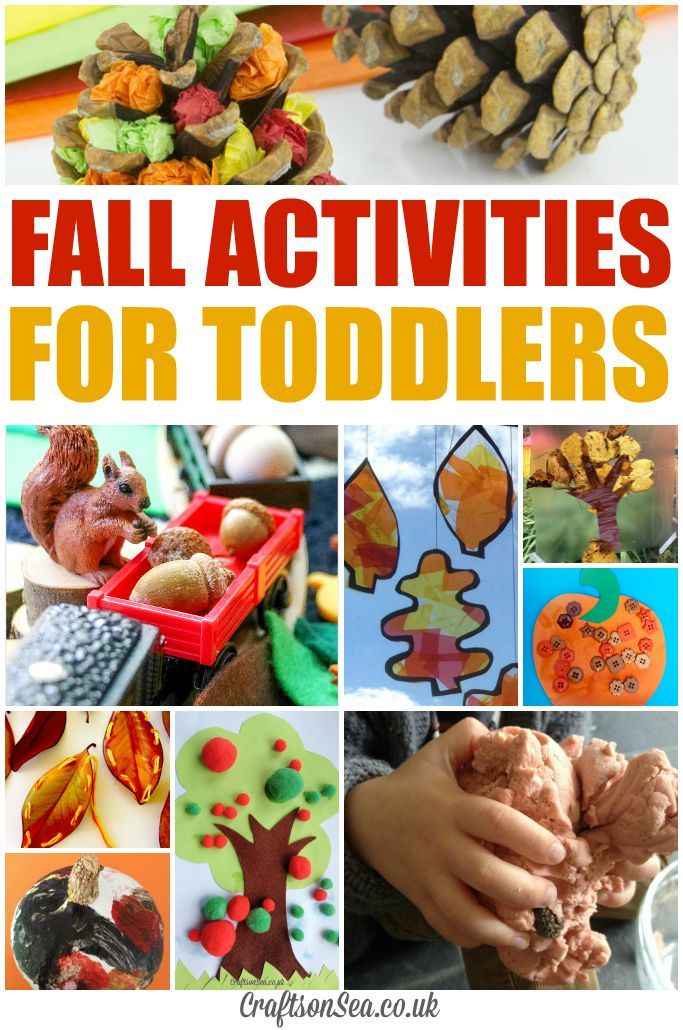 Button Pumpkin and Fall Activities for Toddlers