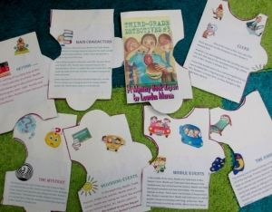 Create a custom jigsaw puzzle - could be used for mystery book project or many other applications.  Great, detailed instructions to take you through the project with your class.
