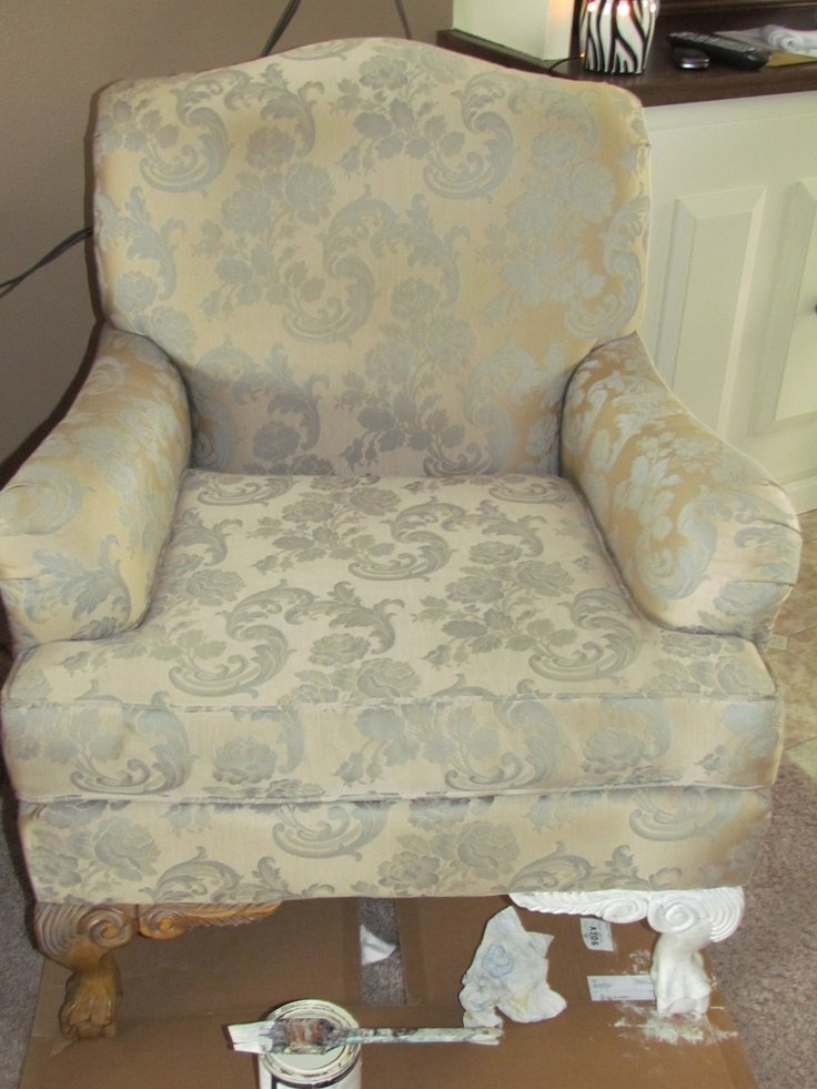 Ugly Chair before | DIY Projects | Pinterest