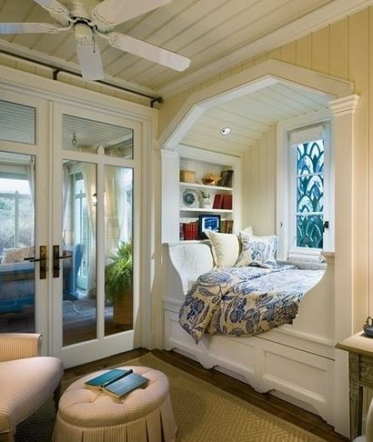 window bed: Ideas, Beds, Dream House, Reading Nooks, Bedrooms, Place, Space