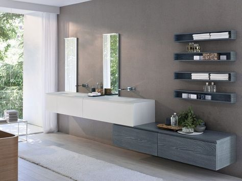 Die besten 25+ Badezimmer wandregal Ideen auf Pinterest - klug badezimmer design stauraum organisieren