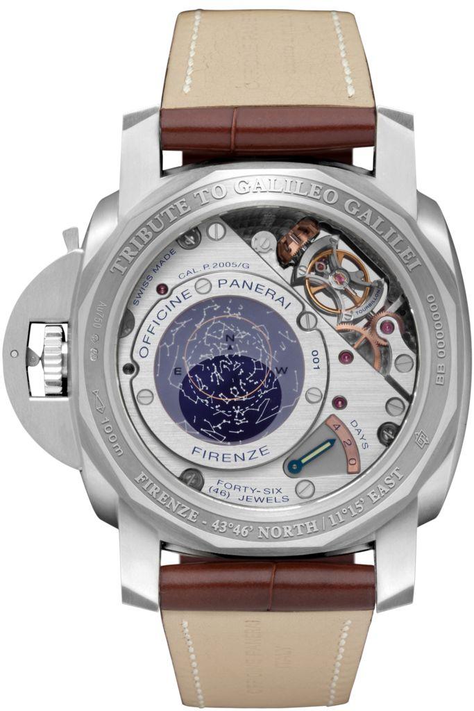 L'ASTRONOMO - Luminor 1950 Tourbillon Equation of Time Oro Bianco - 50mm PAM36502 - Collection Luminor 1950 - Officine Panerai Watches