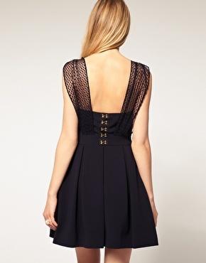 Love this back: Dream Wardrobe, Whistles Dress, Net Overlay, Overlay Detail, Style File, Melissa Dress