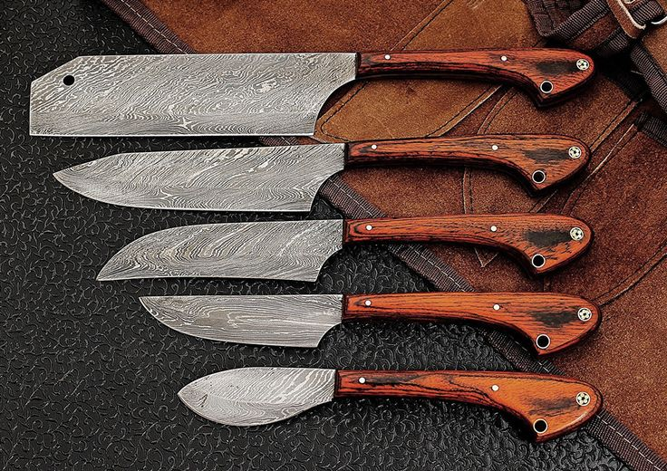 Cool Product Alert: Damascus Knives