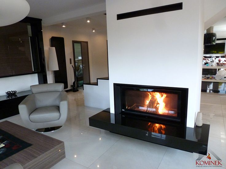Our latest realization of the #fireplace Fireplace insert BeF Home Trend V12