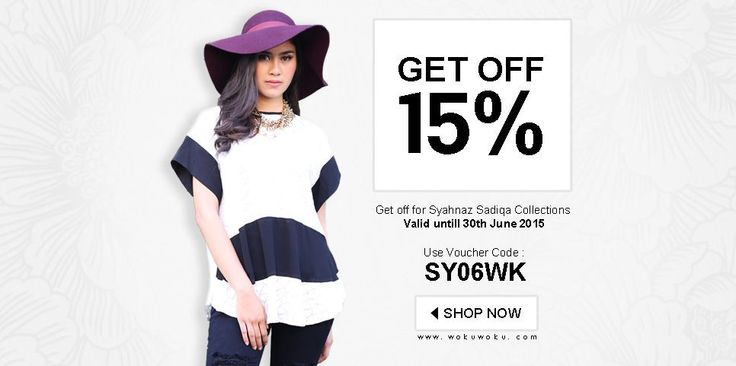 discount for collection of syahnaz shadiqah only on wokuwoku.com