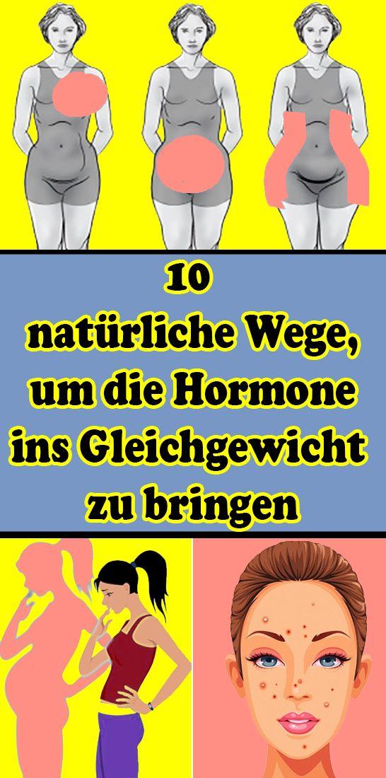 10 natürliche Wege, um die Hormone ins Gleichgewicht zu bringen