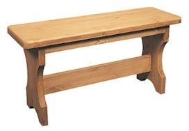 Beautiful hand made pine bench: http://www.pinefarmhousetable.co.uk/pine-bench~133