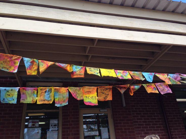 Harmony Day teaching idea activity prayer flags