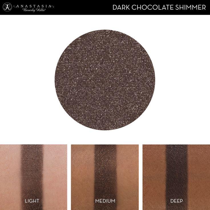 Abh Dark Chocolate Shimmer Eyeshadow Swatch