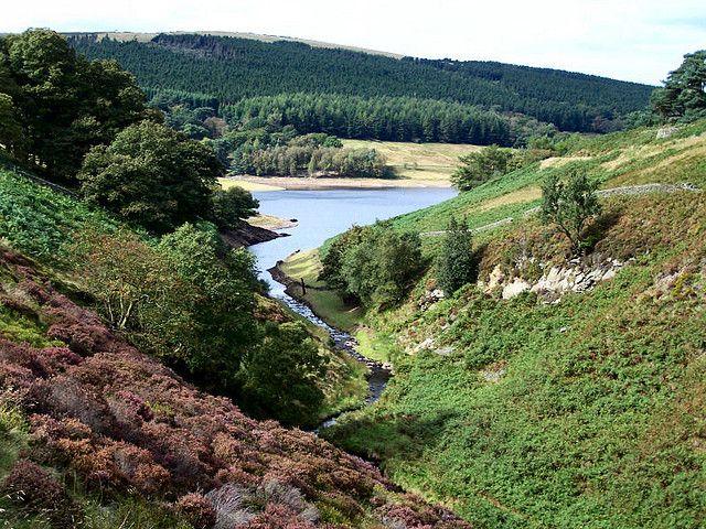 Goyt Valley near Buxton, Derbyshire