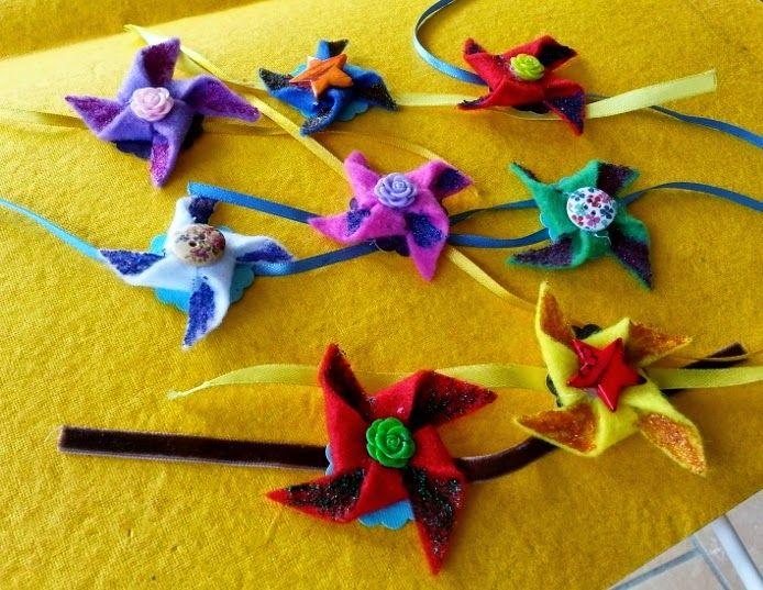 Life's little treasures: Handmade Rakhi | Felt Rakhi | Kids Origami Pinwheel Rakhis