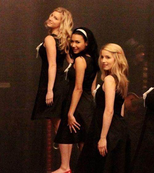 Quinn, Santana & Brittany...the unholy trinity <3