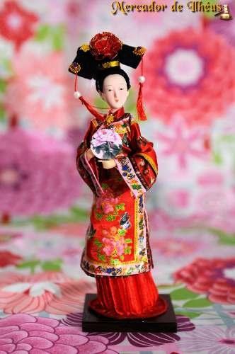 Coleção Bonecas Chinesas Princesa Da Dinastia Qing R$120,00
