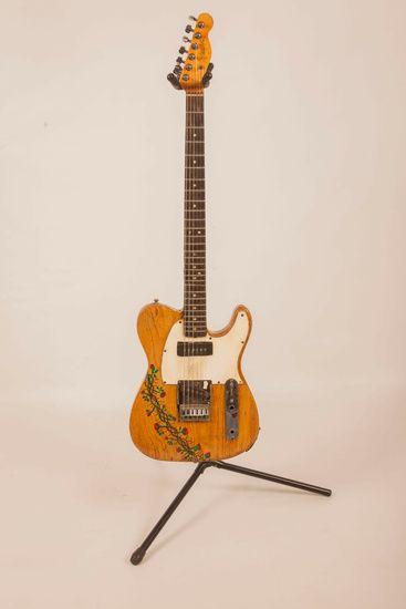 Nieuw in mijn Werk aan de Muur shop: gitaar