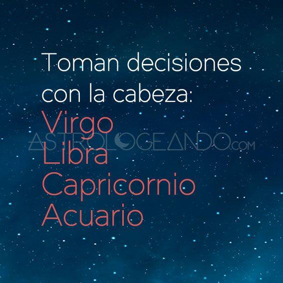 #Virgo #Libra #Capricornio #Acuario #Astrología #Zodiaco #Astrologeando astrologeando.com