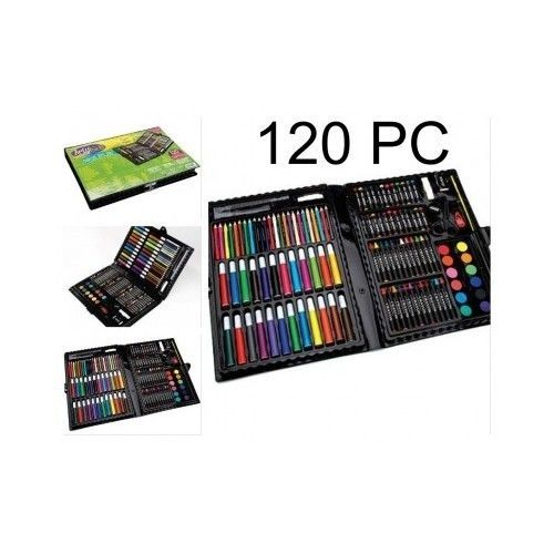 Deluxe-Art-Set-Kids-Craft-Paint-Sketch-Drawing-Painting-Kit-Artist-Supplies-Tool