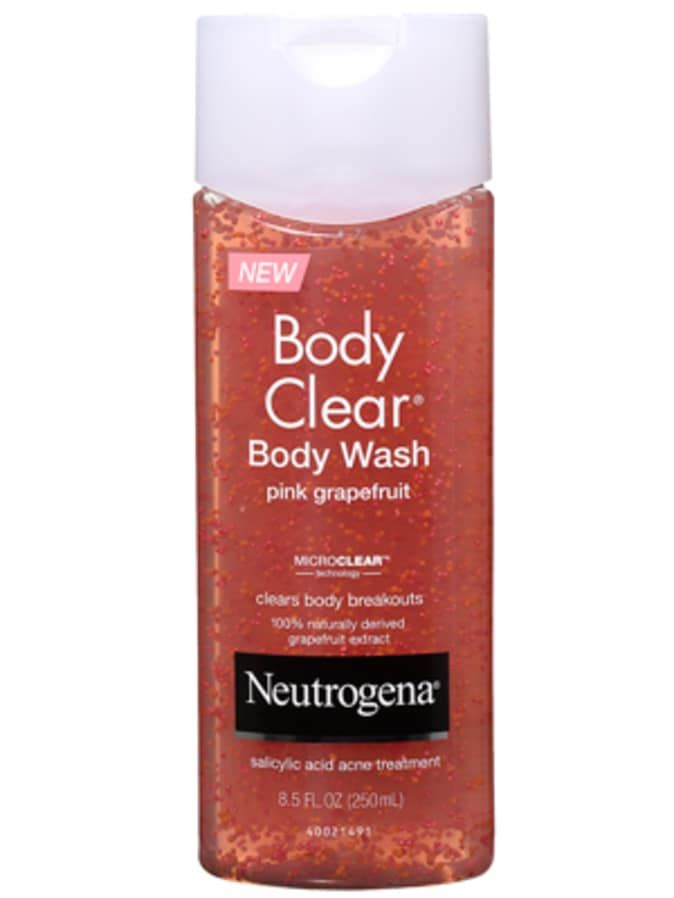 How To Get Rid Of Body Acne Body Acne Neutrogena Body Clear Body Wash Chest Acne
