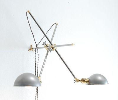 ADJUSTABLE-ARTICULATING-BRASS-STEEL-WALL-LIGHT-BOOM-LAMP-SCONCE-VINTAGE-STYLE-4