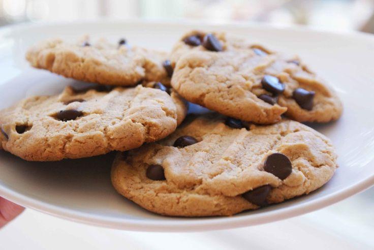 Suger-Free Paleo Choc Chip Cookies