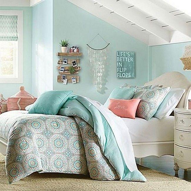 50 Blue Bedroom Inspirations For Women Bedroom Design Wall