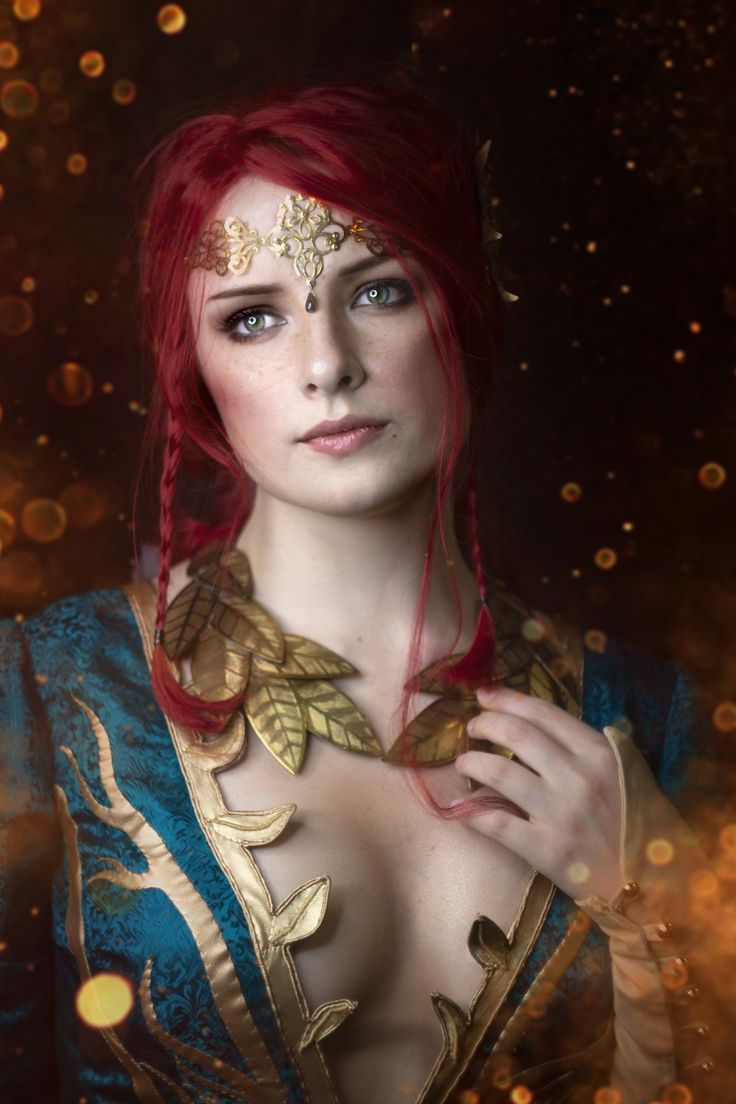 Triss Merigold   Triss merigold cosplay, Triss merigold