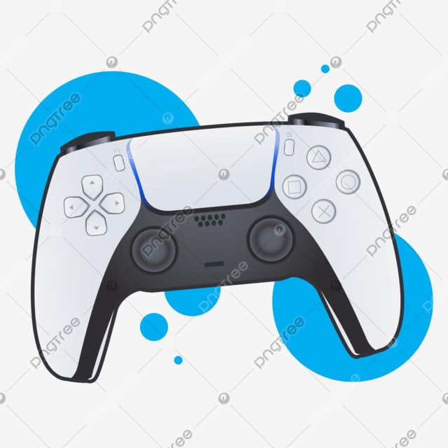 White Video Game Controller With Blue Background Video Game Controller Clipart Controller Play Png And Vector With Transparent Background For Free Download Video Game Controller Cartoon Sun Cartoon Styles