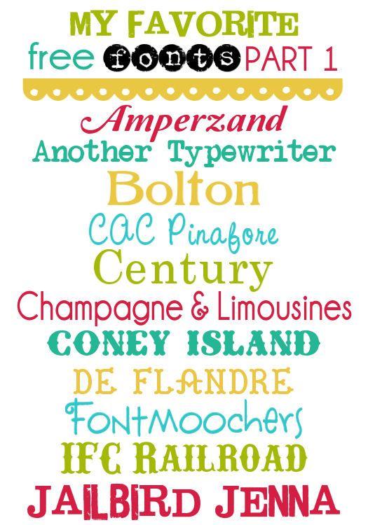 Free Fonts - All-Time Part1 @Kristyn {Lil' Luna}